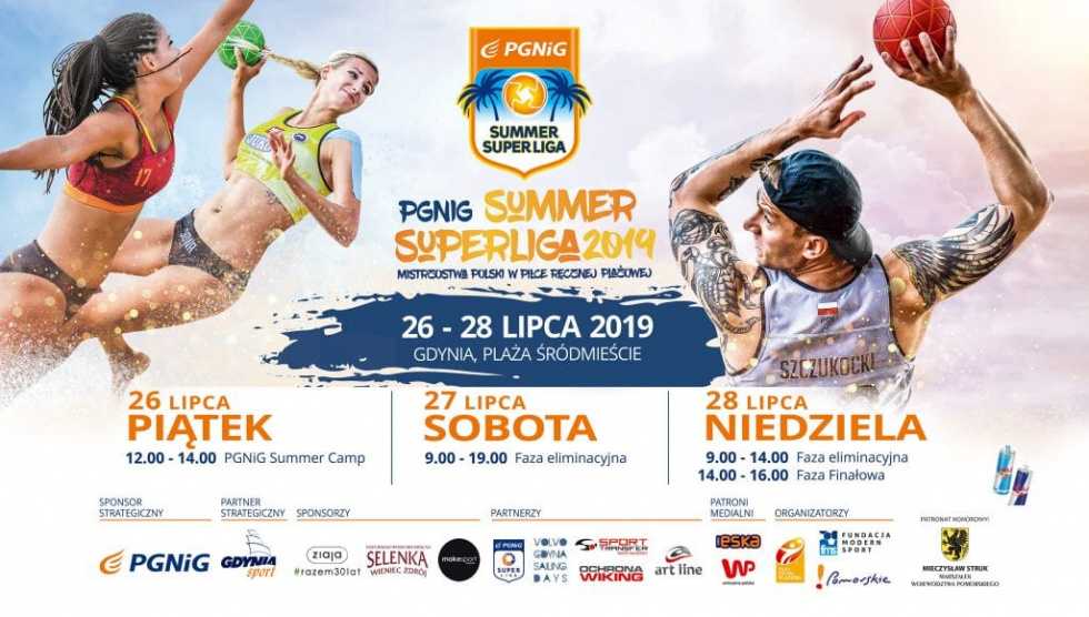 PGNiG Summer Superliga już w ten weekend w Gdyni