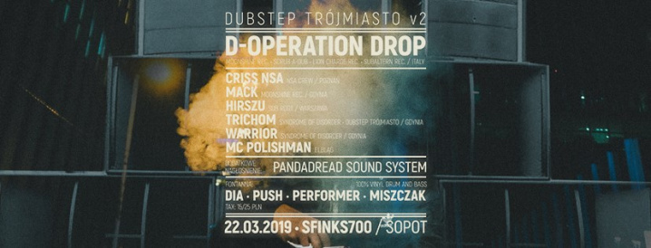 Dubstep Trójmiasto vol. 2 - D-Operation Drop